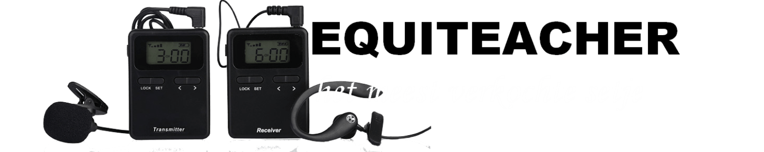 Personal Trainer Radio Mic System for equestrian